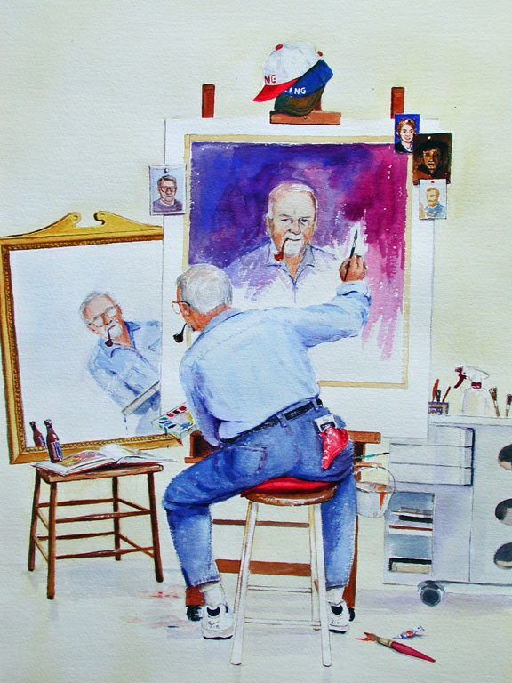 Andreotti Art Studio - Self Portrait